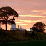 Sunset over Cromarty Lighthouse