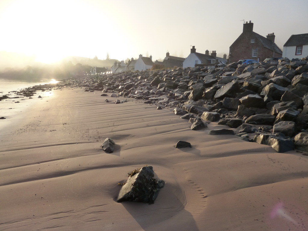 Cromarty Fishertown beach