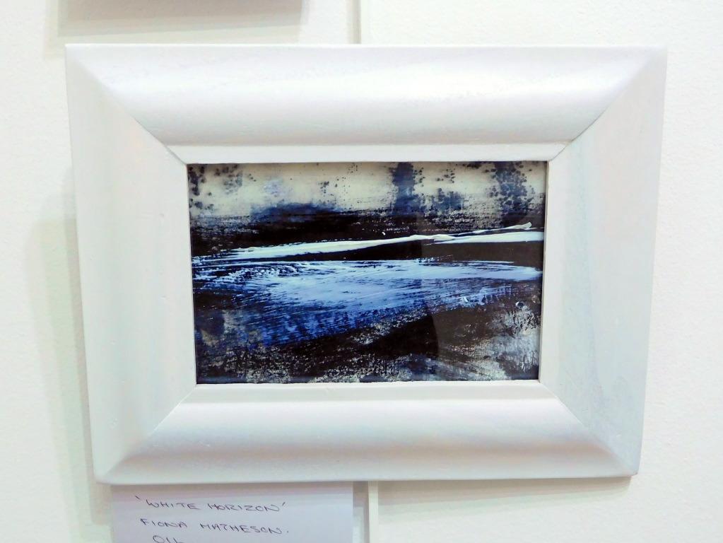 'White Horizon' painting by Fiona Matheson