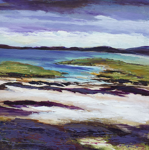 Dark Clouds Over The Bay, by Jane McRae
