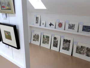Mounted prints at gallery48