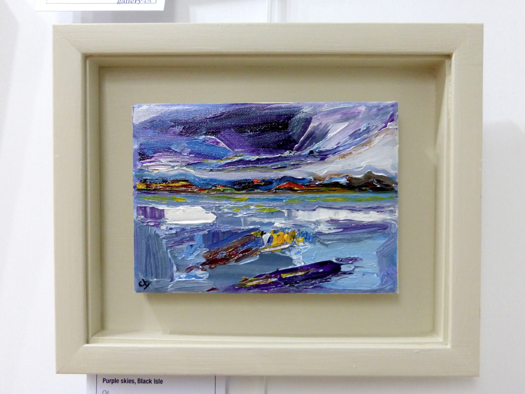 Small oil painting by Clare Blois