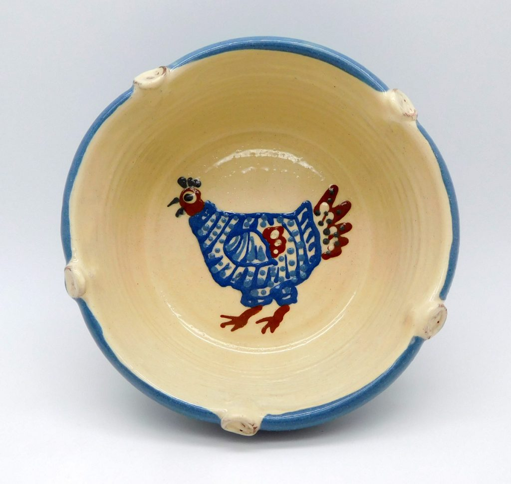 Chicken Bowl, by Cromarty Pottery